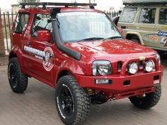 suzuki jimny big boy red convertible - Google Search