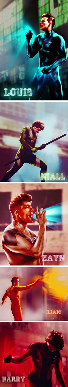 Good lord. This some of my favorite one direction drawings or whatever you call. I love this.