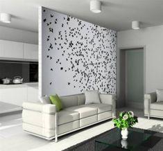 Beau Unique Living Room Wall Decorating Ideas   Beautiful Homes Design