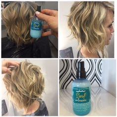 beach waves, beachy hair, beach curls, Bumble and bumble., hairstyle, hair, natural, Cat Eye Kate, Inside Henderson, Inside Style