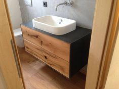 This article is not available Washstands made to measure from solid wood with metal cladding Home Decor Mirrors, Modern Bathroom Decor, Small Bathroom, Metal Cladding, Mirror Cabinets, Bathroom Renos, Solid Wood, Metal Solid, Kitchen Remodel