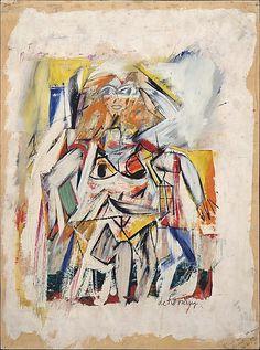 "Willem de Kooning - ""Woman"" - 1950"