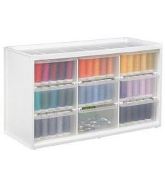 Store-In-Drawer Cabinet W/9 Transparent Drawers at Joann.com