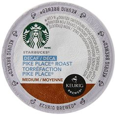 Starbucks Decaf Pike Place Roast, K-Cup for Keurig Brewers, 96 Count * Visit the image link more details.