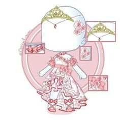 【️❤️~Sweet Rose Princess Prom-Dress+crown, shoes, accesories~❤️】️ \\Inspired by princess athanasia dress ~ ~ 【️Details:】️ hours 29 minutes ~ ~ Tagies: Cute Kawaii Drawings, Kawaii Art, Dress Drawing, Drawing Clothes, Chibi Body, Episode Interactive Backgrounds, Line Art Vector, Anime Drawing Styles, Prom Poses