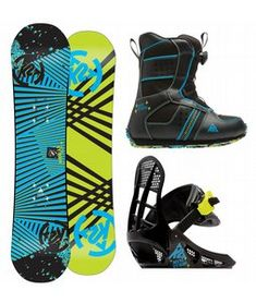 K2 toddler Snowboard, boots and Bindings