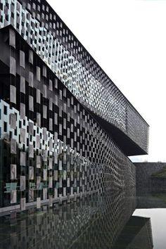 kengo kuma and associates | museum of wisdom - xinjin zhi museum [cheng, du, china].