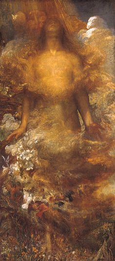George Frederic Watts - She Shall be Called Woman circa 1880