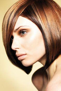 Brunette hair: brunette, brown, dark hairstyles ideas 2013