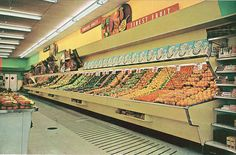Winn-Dixie Produce Aisle 1960's | Flickr - Photo Sharing!