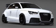 Audi S1 EKX RX Concept – 600 Chevaux !