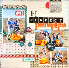 The Perfect Pumpkin ~Scrapbook Circle~ - Scrapbook.com