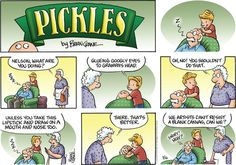 Pickles Comic Strip, March 16, 2014 on GoComics.com