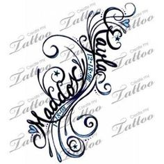 Image result for kids name tattoos
