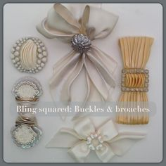 Lovely Bling and Brooches!