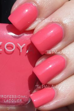 Zoya Summer 2013 Stunning Collection Swatches - Micky