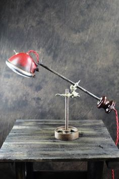 Red Tractor Light Lamp