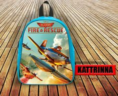 Fantastic Movie Fire and Rescue Sky Design for School Bag Backpack for Children Small size Middle size Large size
