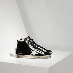 https://www.goldengoosesneakerssale.com/  169 : Francy Sneakers Hi Couples Shoes Black White SilverwCKmZQJi