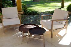 Sillones Muliere y mesas Quiti - Las Marinas muebles www.lmarinas.com.ar