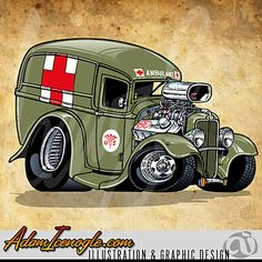 Cars cartoon autos 35 ideas for 2019 Cartoon Car Drawing, Car Drawings, Cartoon Art, Cars Cartoon, Rat Fink, Weird Cars, Cool Cars, Cartoons Magazine, Truck Art