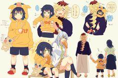 Anime Ai, Anime Demon, Anime Manga, Demon Slayer, Slayer Anime, Funny Minion Memes, Familia Anime, Demon Hunter, Cute Family