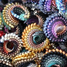 """Anna Richerby-South Africa """"To Have and Hold"""" Many thanks to The Beadsmith for sharing this!"""