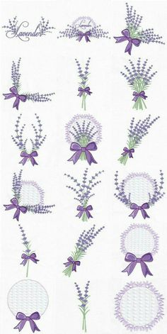 Embroidery Library Applique every Embroidery Designs Etsy into Embroidery Hoop Leaves Marks Hand Embroidery Stitches, Hand Embroidery Designs, Ribbon Embroidery, Cross Stitch Embroidery, Embroidery Patterns, Cross Stitch Patterns, Lavender Crafts, Lavender Bags, Lavender Sachets