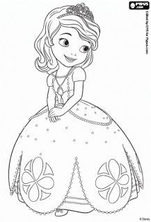 Ausmalbilder Sofia Die Erste Auf Einmal Prinzessin Mermaid Coloring Pages Disney Coloring Pages Princess Coloring Pages