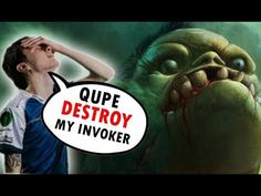 How Qupe Pudge DESTROY Miracle Invoker [Dota 2]
