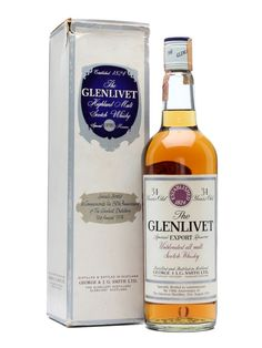 Glenlivet 34 Year Old / 150th Anniversary Scotch Whisky : The Whisky Exchange