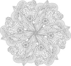 Super Detailed Mandala Others Here Too