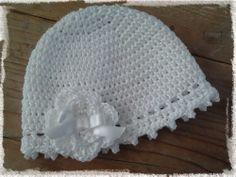 crochet, free pattern (dutch), baby hat, haken, gratis patroon, babymutsje, madebylittle.blogspot.nl