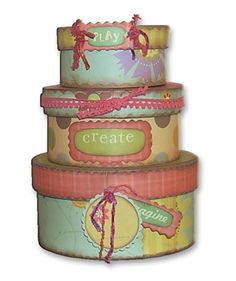Hat boxes can be used to store all kinds of smaller accessories to keep things neat inside a closet