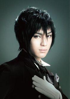 Yuya Matsushita as Sebastian Michaelis....I LOVE HIM SO MUCH!!!