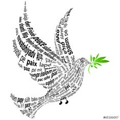 Peace in many languages of the world!