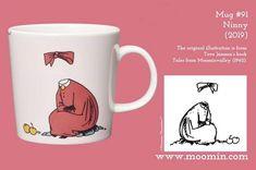 Moomin Mug # 91 Moomin Tattoo, Moomin Mugs, Illustrations, History, The Originals, Tableware, Books, Anime, Design