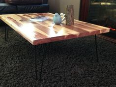 Redwood Coffee Table — Many Splintered Things