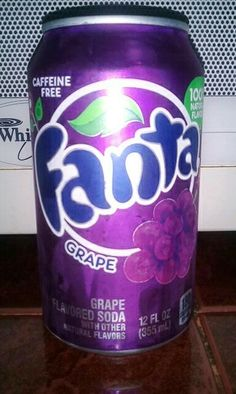 fanta grape <3