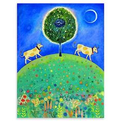 ACHICA | Nicolette Carter - Till the cows come home, Print, 50cmx70cm