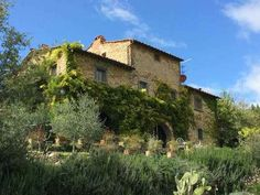 A stone throw away from the charming village of Volpaia, this typical Tuscan farmhouse is nestled into the hillside comprising 2 ha of land with a terraced garden, pool and olive grove.