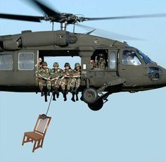 This is AWESOME! The empty chair... (In reference to Clint Eastwood's bit on Obama's empty chair)