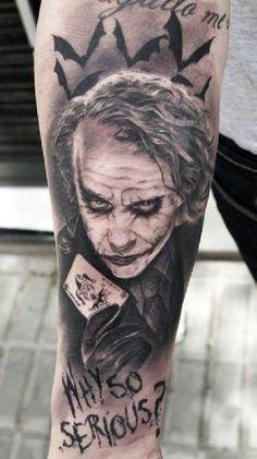 joker tattoo - Cerca con Google