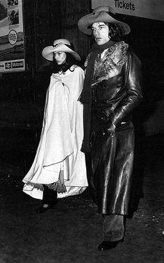 Mick & Bianca...so long ago...