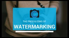 Should you watermark your photos? Read our guide on the pros and cons. Online Photography Course, Photography Courses, Photography Tutorials, Your Photos, Reading, Reading Books, Photography Classes
