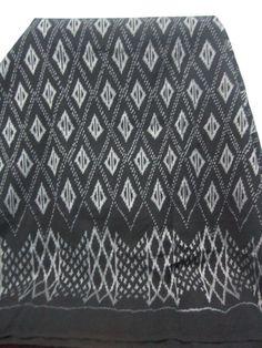 FREE SHIPPING Ikat Shawl / Rug / Table Cloth / Craft by AmkenShop