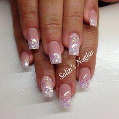 solinsnaglar | Instagrin | glitter mani #glitternails