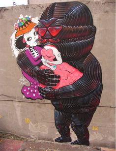 One of the weirdest pieces I've seen in a long time by Minoz and Meiz in Mexico