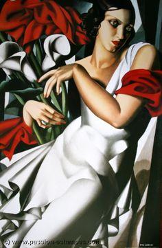 Portrait de Madame Ira P., 1930  Tamara de Lempicka