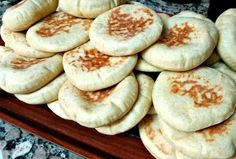 Moroccan Batbout - The Pita Bread That's Cooked on the Stove: Batbout - Moroccan…